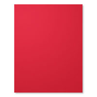Real Red 8-1/2X11 Card Stock