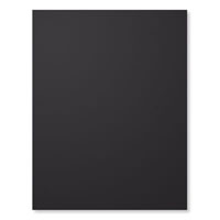 "Basic Black 8-1/2"" X 11"" Card Stock"