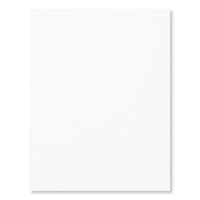 "Whisper White 8-1/2"" X 11"" Card Stock"