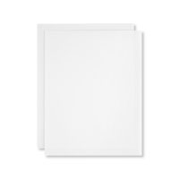 White Vellum 8-1/2X11 Card Stock