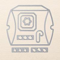 Square Pillow Box Thinlits Dies