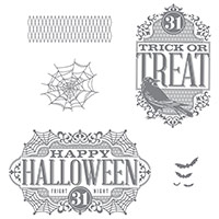 Witches' Night Photopolymer Stamp Set