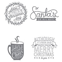 Cup Of Cheer Clear-Mount Stamp Set