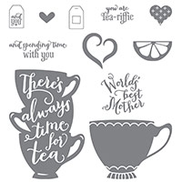 A Nice Cuppa Photopolymer Stamp Set
