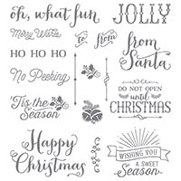Oh, What Fun Photopolymer Stamp Set