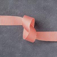 "Watermelon Wonder 5/8"" (1.6 Cm) Mini Striped Ribbon"
