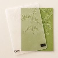 Pine Bough Textured Impressions Embossing Folder