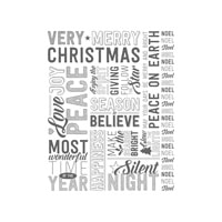Merry Medley Clear-Mount Stamp