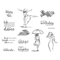 Beautiful You Clear-Mount Stamp Set