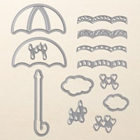 Umbrella Weather Framelits Dies