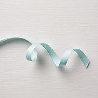 "Soft Sky 3/8"" Classic Weave Ribbon"