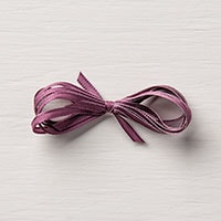 "Fresh Fig 1/8"" Sheer Ribbon"