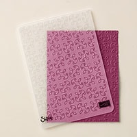 Garden Trellis Textured Impressions Embossing Folder