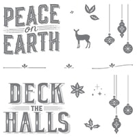 Carols Of Christmas Wood-Mount Stamp Set