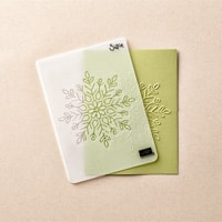 Winter Wonder Textured Impressions Embossing Folder