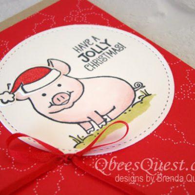 This Little Piggy Says Ho Ho Ho (CT# 119)